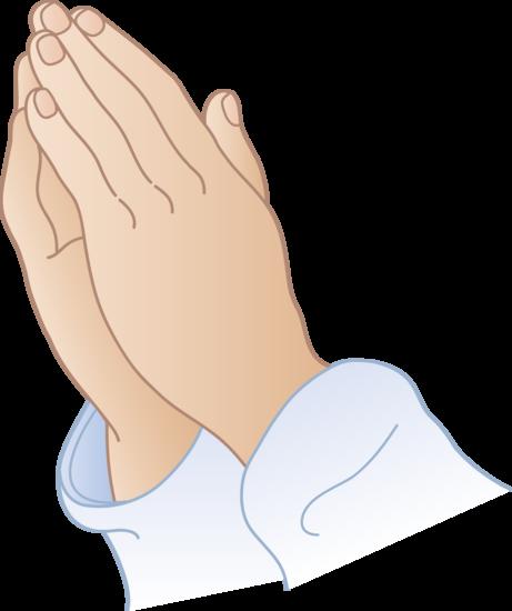Praying hands clipart.