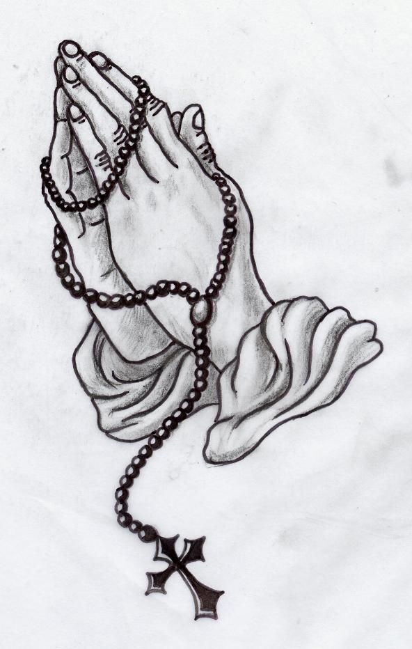 25+ best ideas about Praying Hands With Rosary on Pinterest.