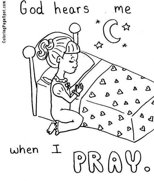 Praying Hands Printable Clip Art.