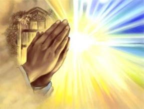 Praying Hands School Clipart.