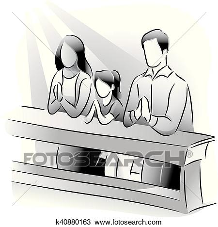 Praying in church clipart 6 » Clipart Station.