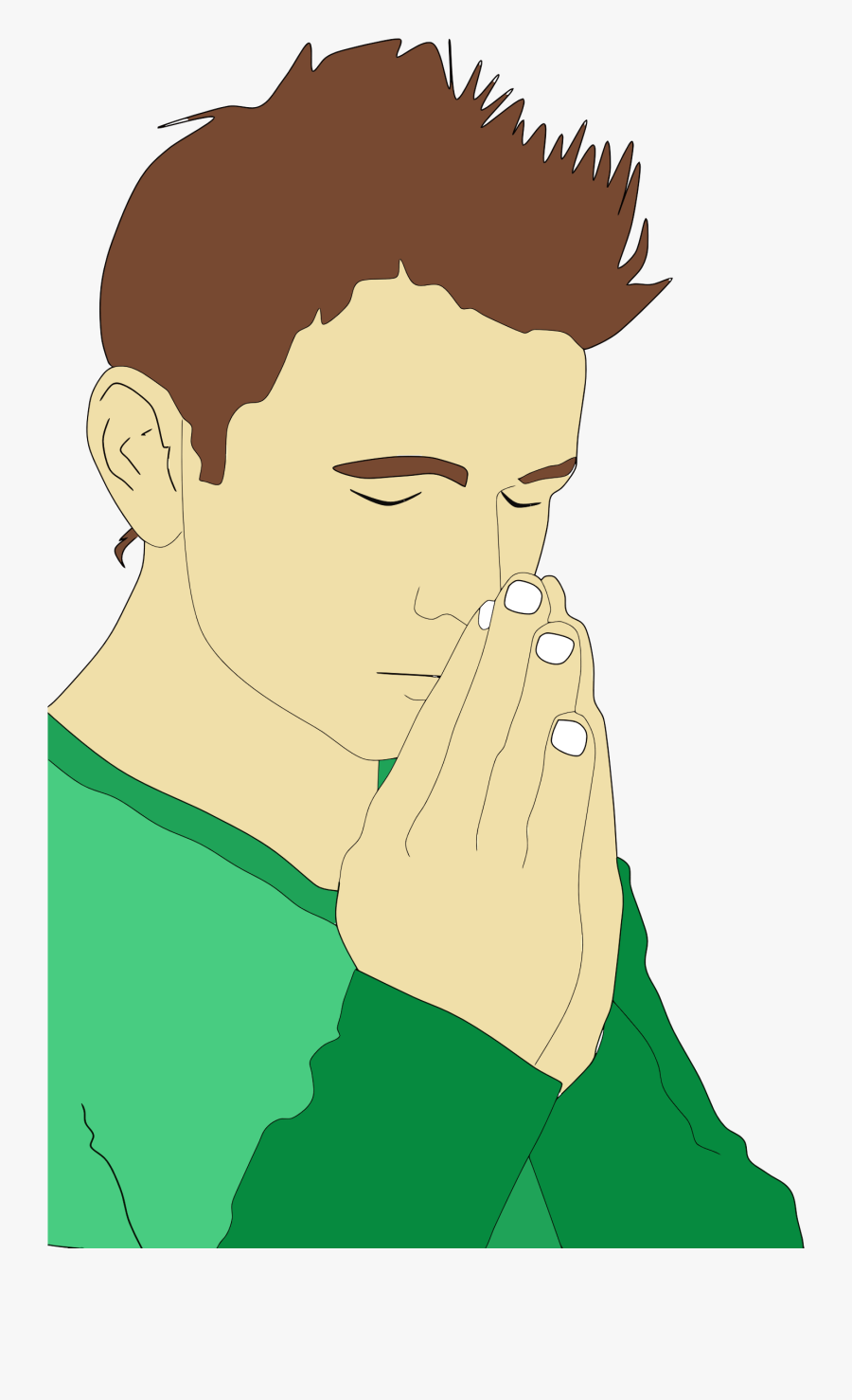Clipart People Praying.