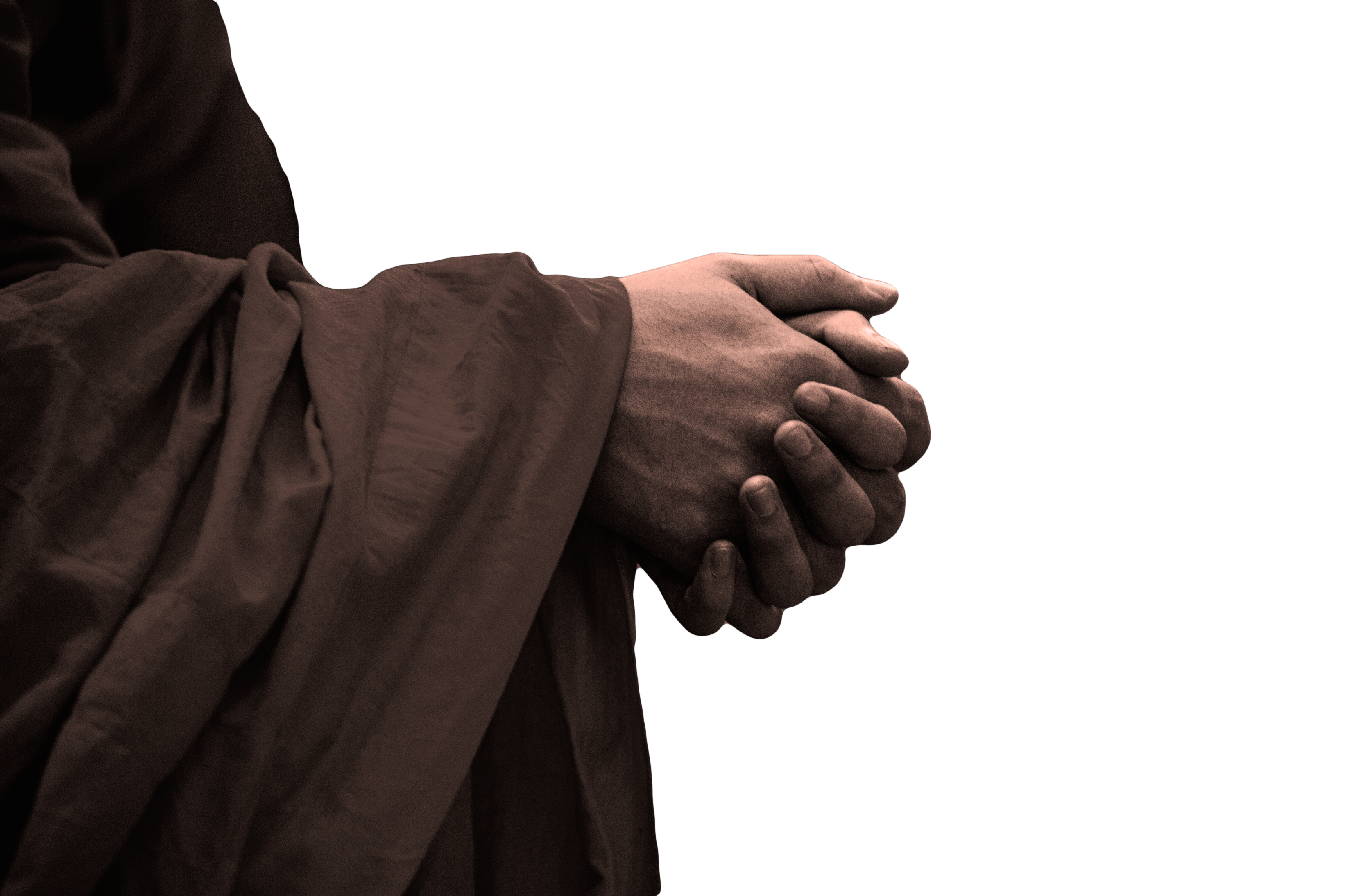 Praying Hands transparent PNG.