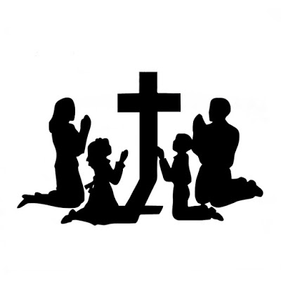 Download family praying together clipart Prayer Clip art.