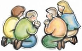 Image result for clip art pray together.