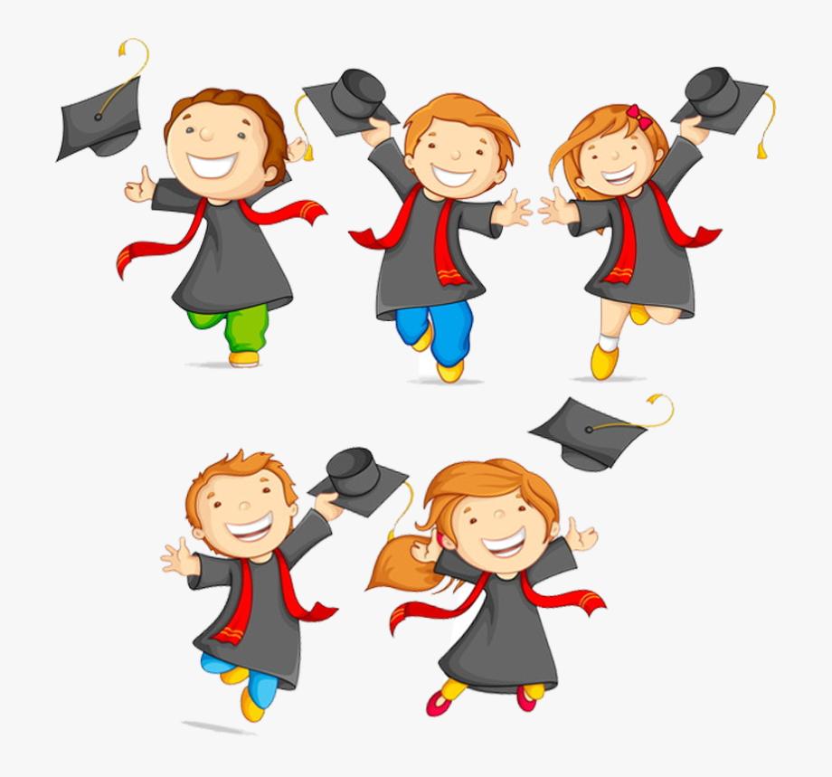 Graduation Ceremony Pre Kindergarten School Clip Art.
