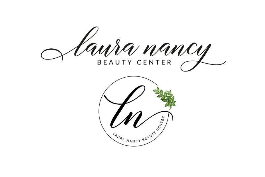 Laura Nancy Premade Logo.