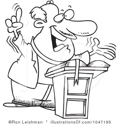 Pastor Clipart Black And White Free.