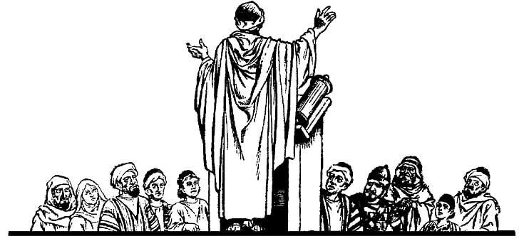 Preacher Sermon Priest PNG, Clipart, Black And White.
