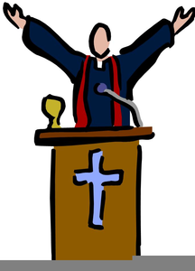 Free Preacher Clipart.