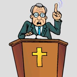 Preacher clipart.