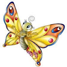 Precious Butterfly Clipart.