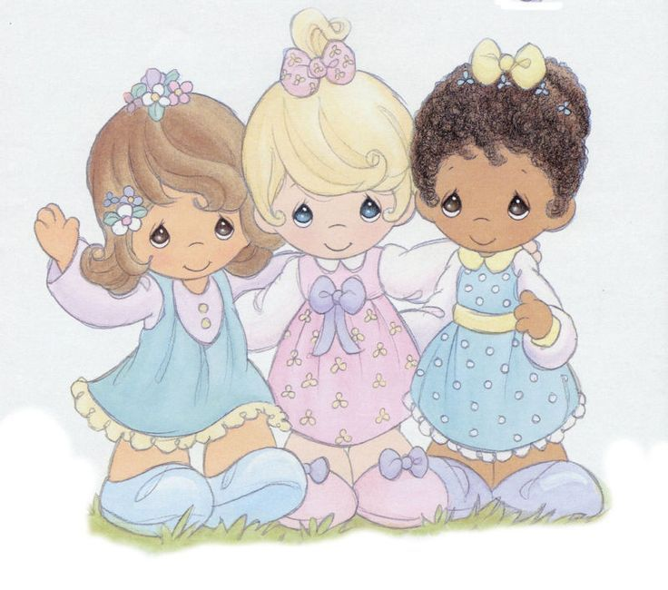 Precious Moments Baby Clip Art.