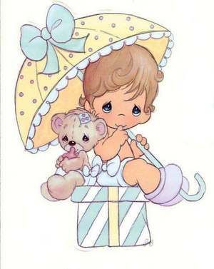 Precious Moments Birthday Clip Art.