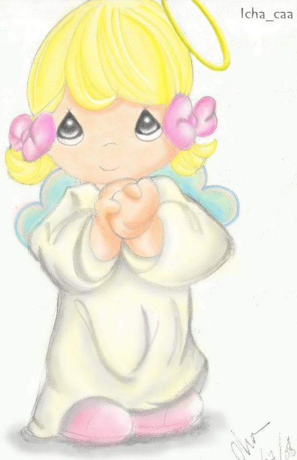 Precious moments angels clipart 6 » Clipart Station.