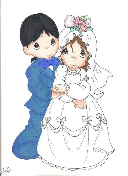 Bride groom.