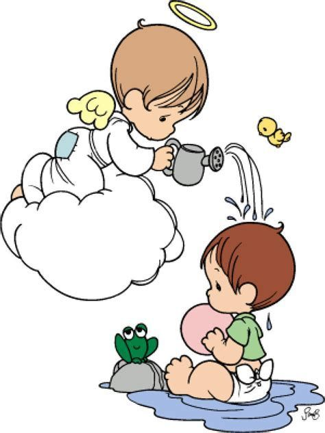 Image result for Precious Moments Clip Art Baptism.