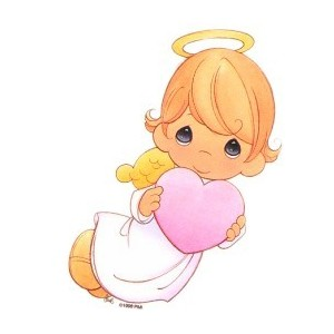 Precious Moments Christening Clipart.