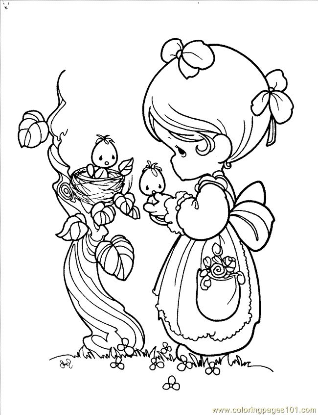 Precious moments clipart black and white 2 » Clipart Station.