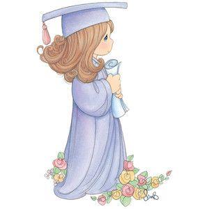 Silhouette Design Store: graduation girl.