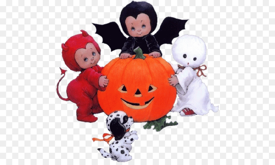Halloween Cartoon Background clipart.