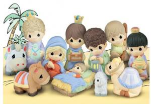 1616 Nativity Scene free clipart.