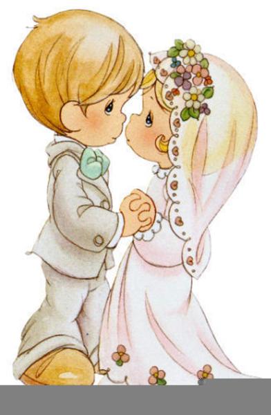 Precious Moment Wedding Clipart.
