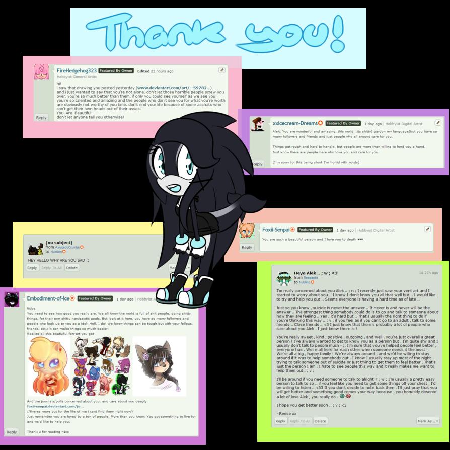 Thanks precious people by Nubliinq on DeviantArt.