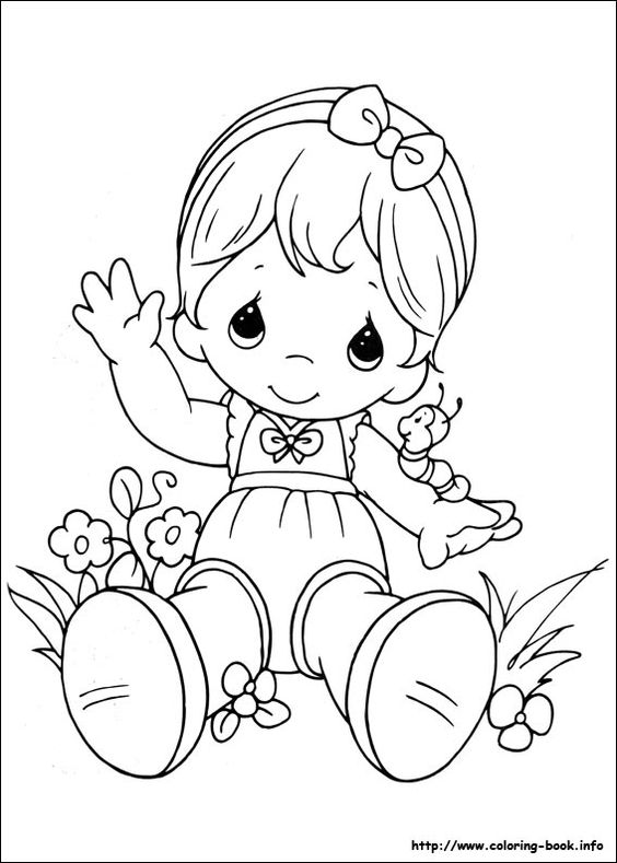 Gallery For > Precious Moments Clipart Black And White.