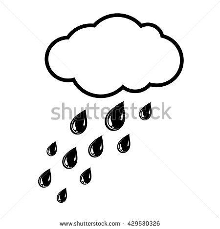 Heavy Fall Of Rain Stock Vectors, Images & Vector Art.