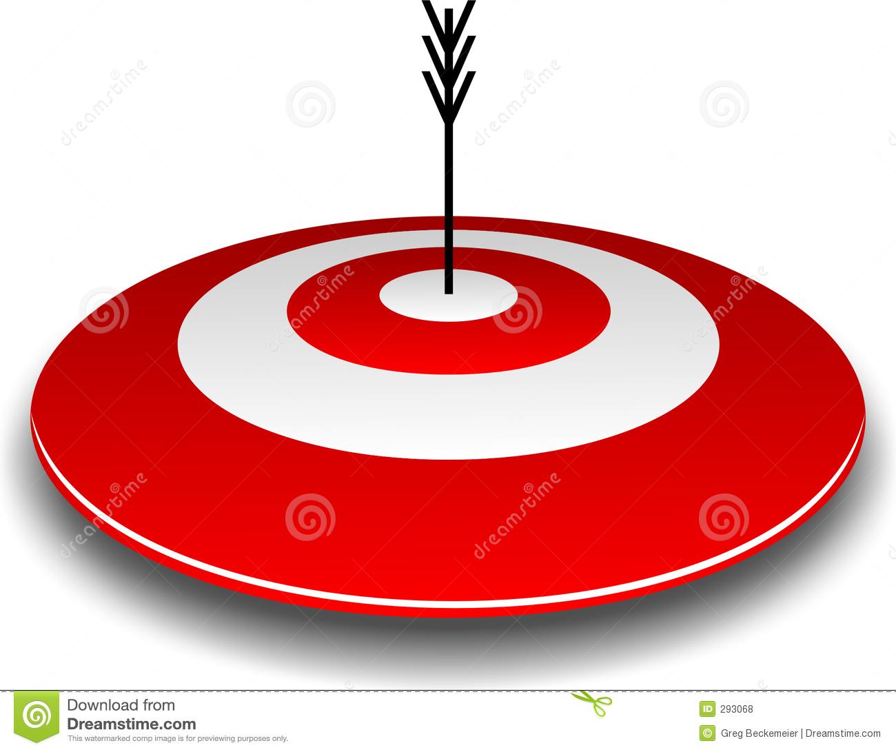Arrow Bullseye Clipart.