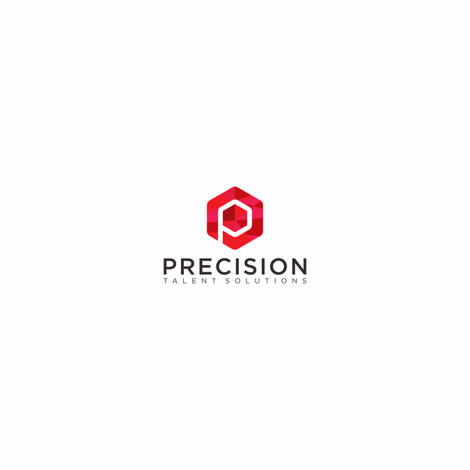 Precision Talent Solutions logo website by mbethu*.