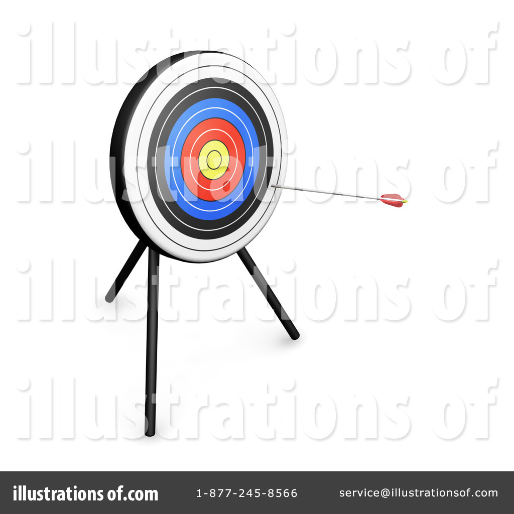 Archery Clipart #25312.