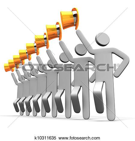 Stock Illustration of Precision Dance k10311635.