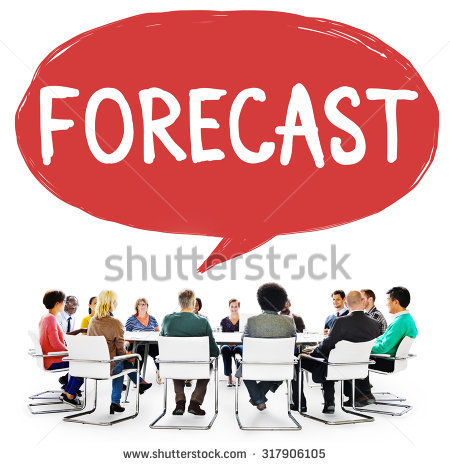 Forecasting Stock Photos, Royalty.