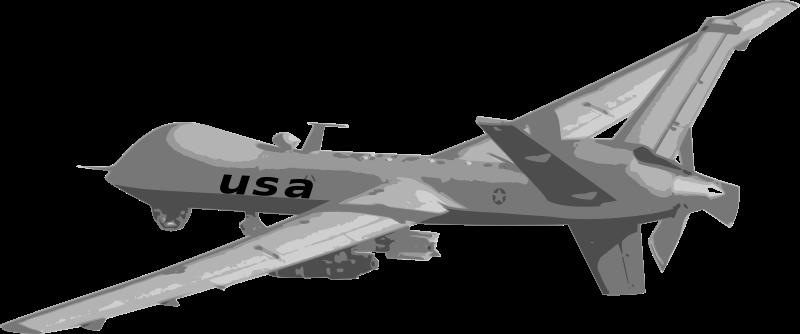 Free Clipart: Predator Drone 2.