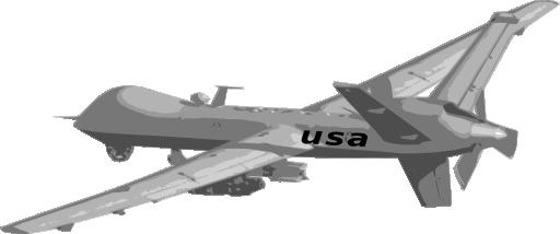 Predator Drone 2 Clipart.