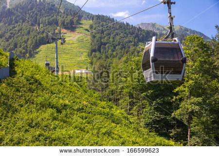 Cable High Mountain Railway Stock Photos, Images, & Pictures.