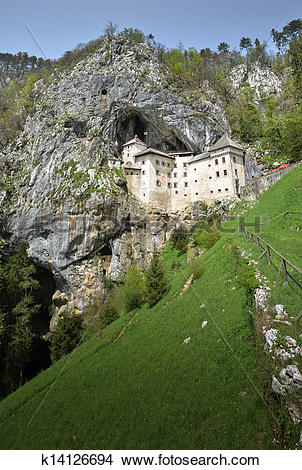 Stock Photo of Predjama castle, Postojna, Slovenia k14126694.