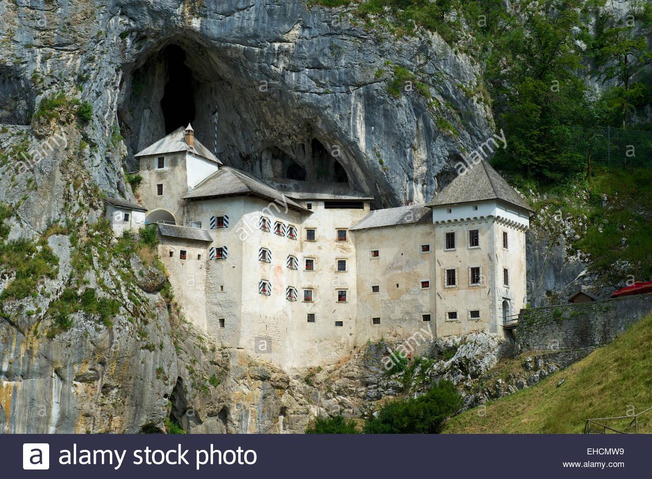 Predjama Castle, Predjamski Grad, Predjama, Near Postojna.