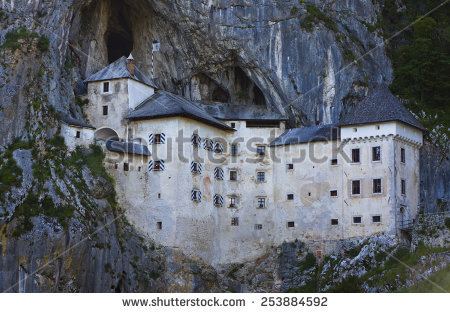 Castle Postojna Predjama Slovenia Stock Photos, Royalty.