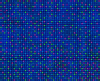 Repeating Square Pattern Predominantly Blue Seamlessly Tileabl.