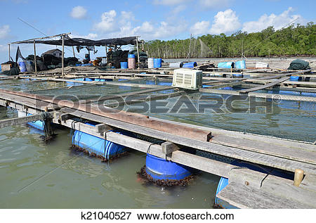 Picture of Kelong, offshore platform, built predominantly with.