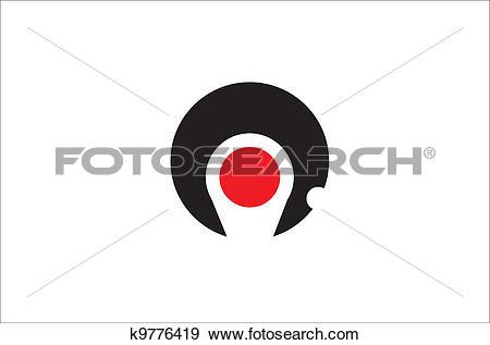 Clip Art of Kagoshima pref flag k9776419.