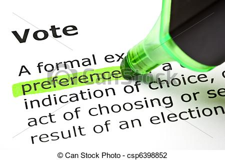 Preferences clipart.
