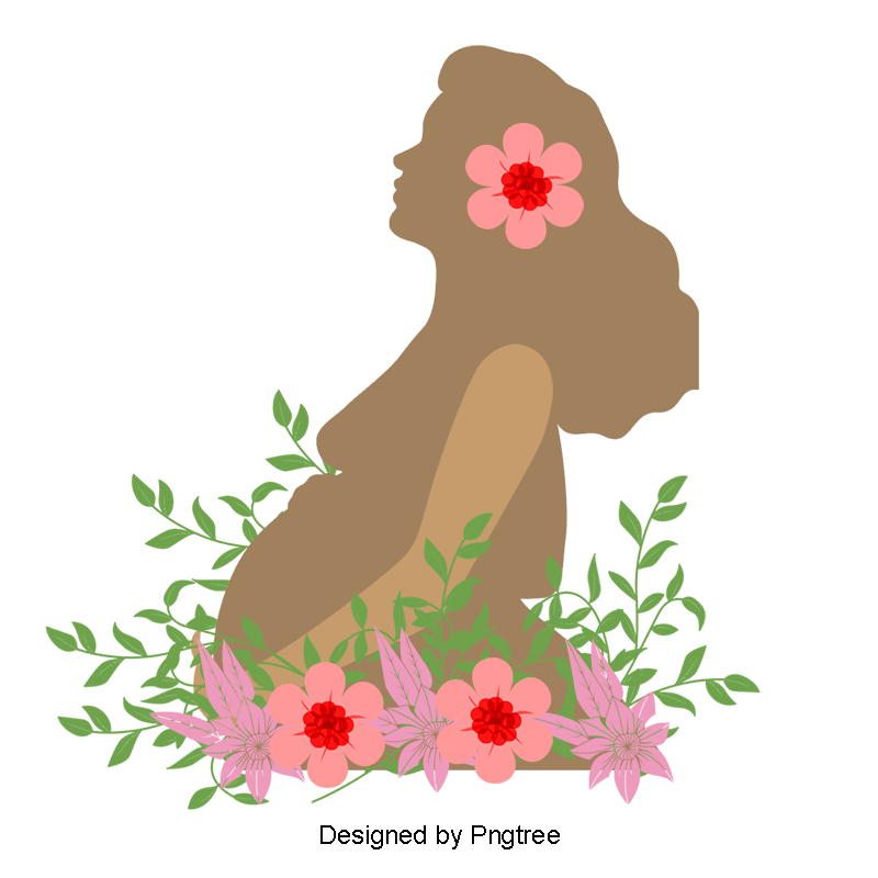 Pregnant Woman PNG Images.