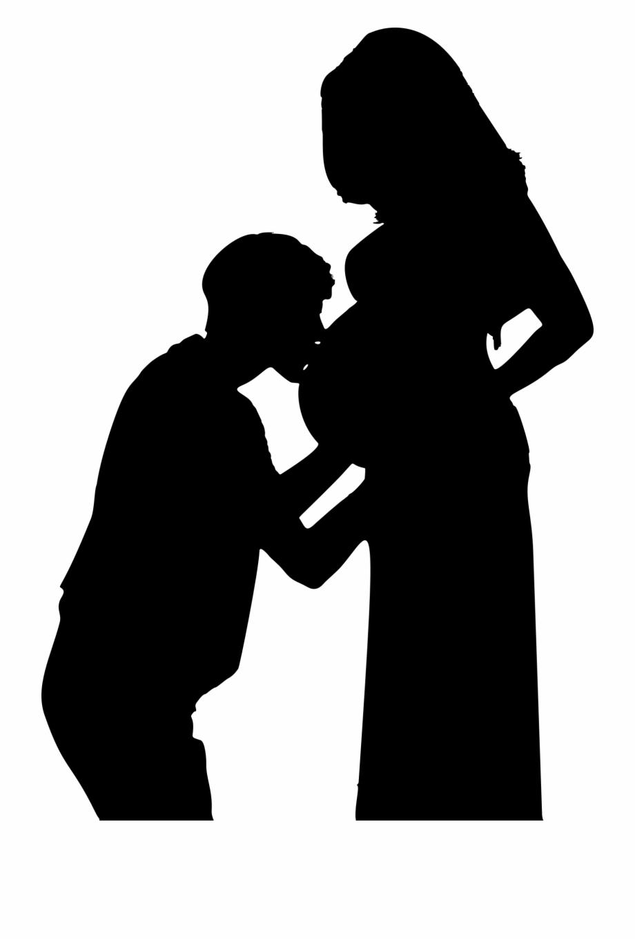 Free Pregnant Silhouette Clip Art, Download Free Clip Art.