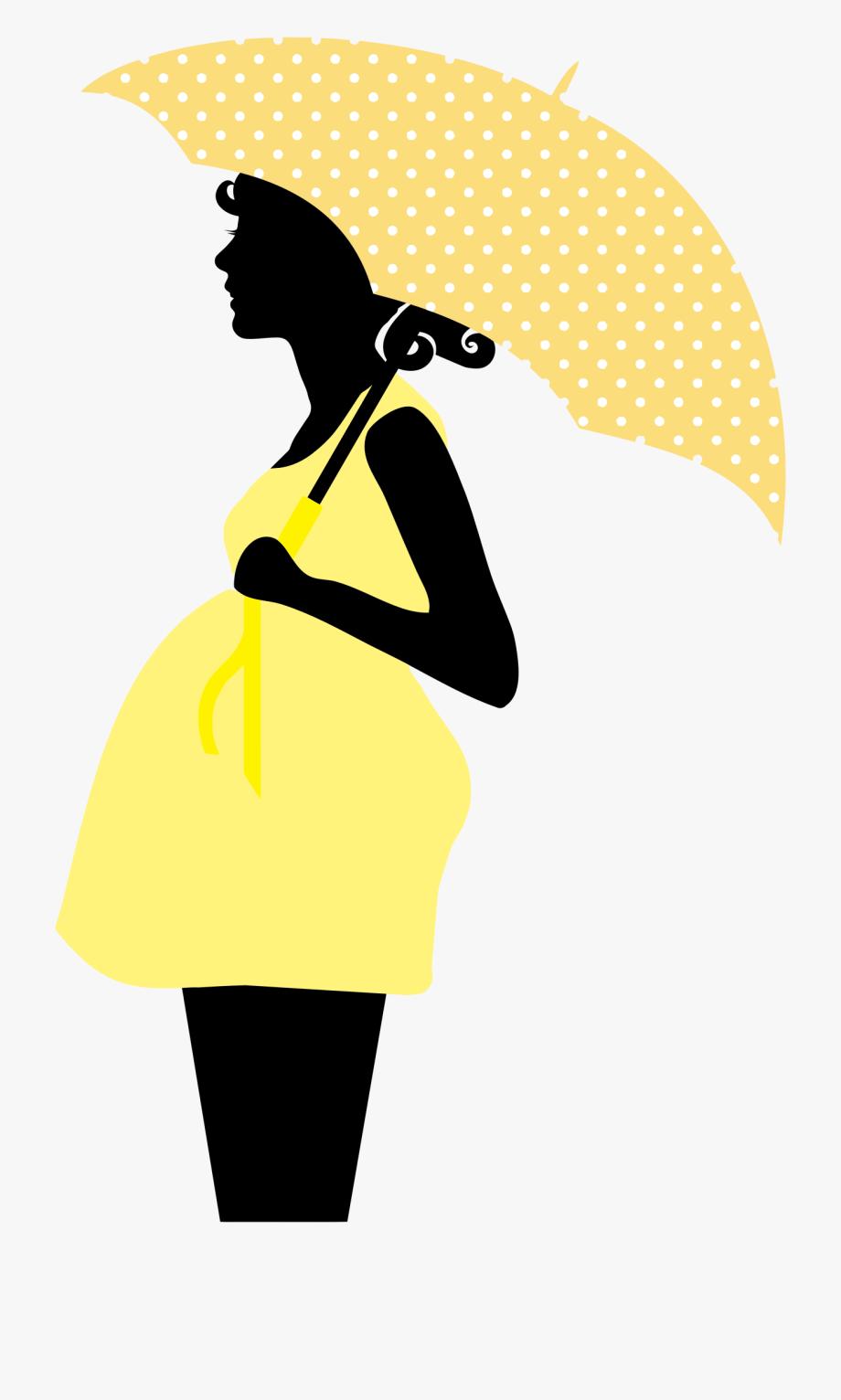 Big Pregnant Lady Clip Art.