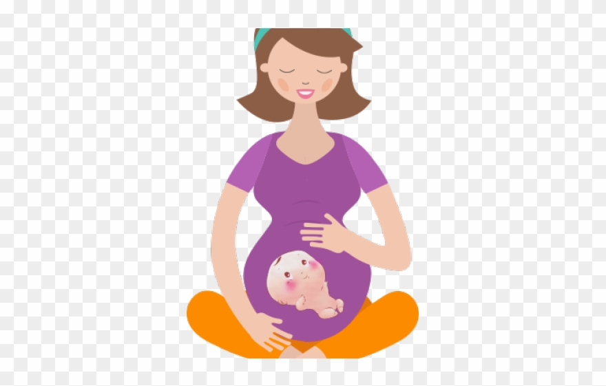 Mommy Clipart Pregnant Mom.