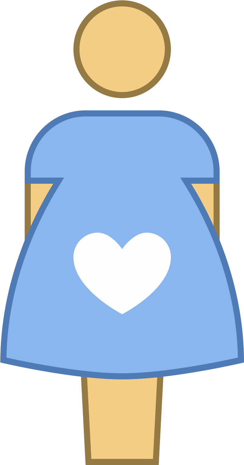Pregnant Vector Clipart Royalty Free.